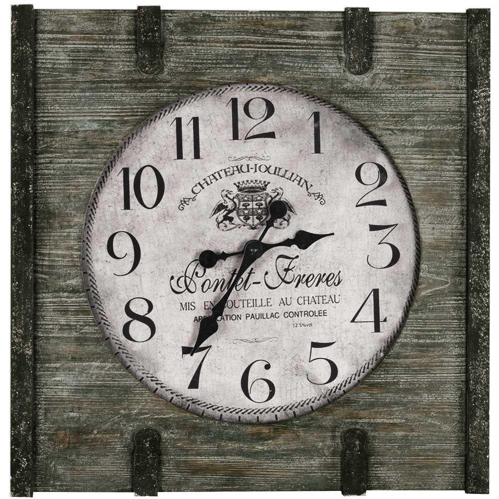 Cooper Classics St Clair Clock Wall Clock Clock Square Wall Clock