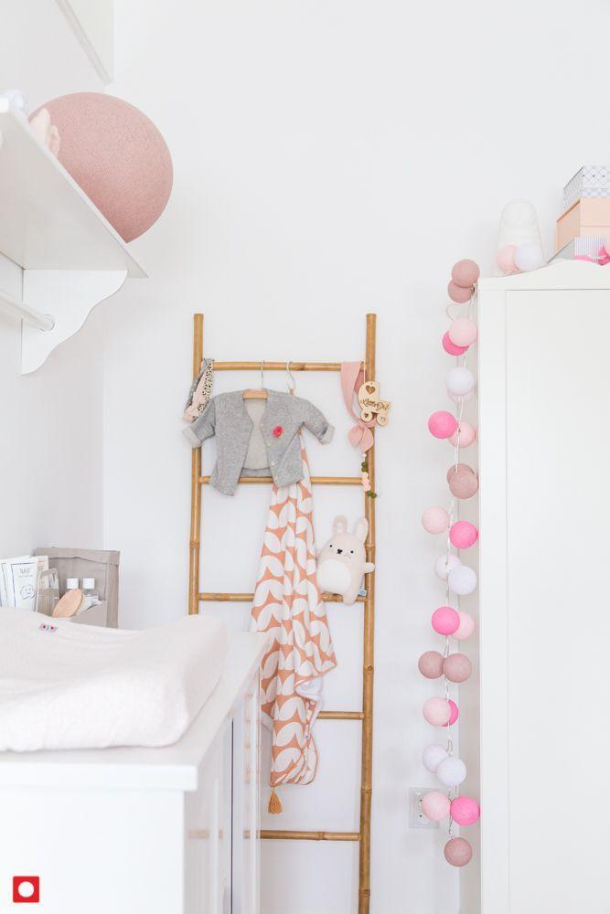Kinderzimmer Lichterketten und Große Lampen Cotton