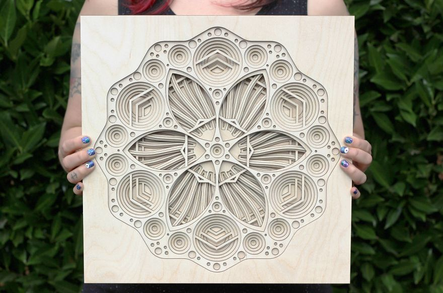 how to cut intricate designs in paper