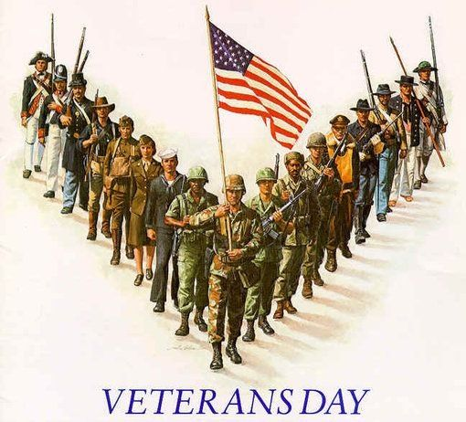 If You See A Veteran Today Be Sure To Shake Their Hand And Thank