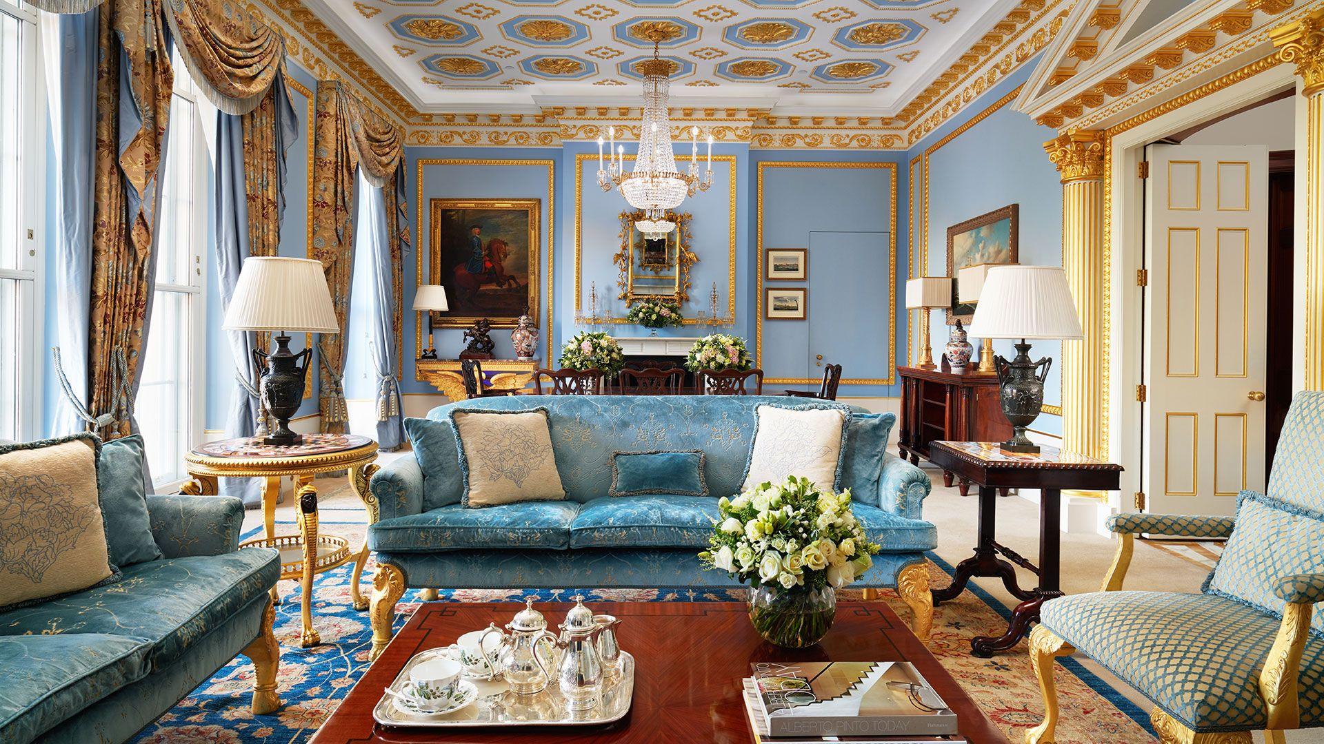 The Royal Suite The Lanesborough 5 Star Hotel London London