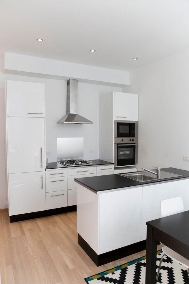 Créer une cuisine dans un appartement, 3 exemples réussis Cuisine - construire un bar de cuisine