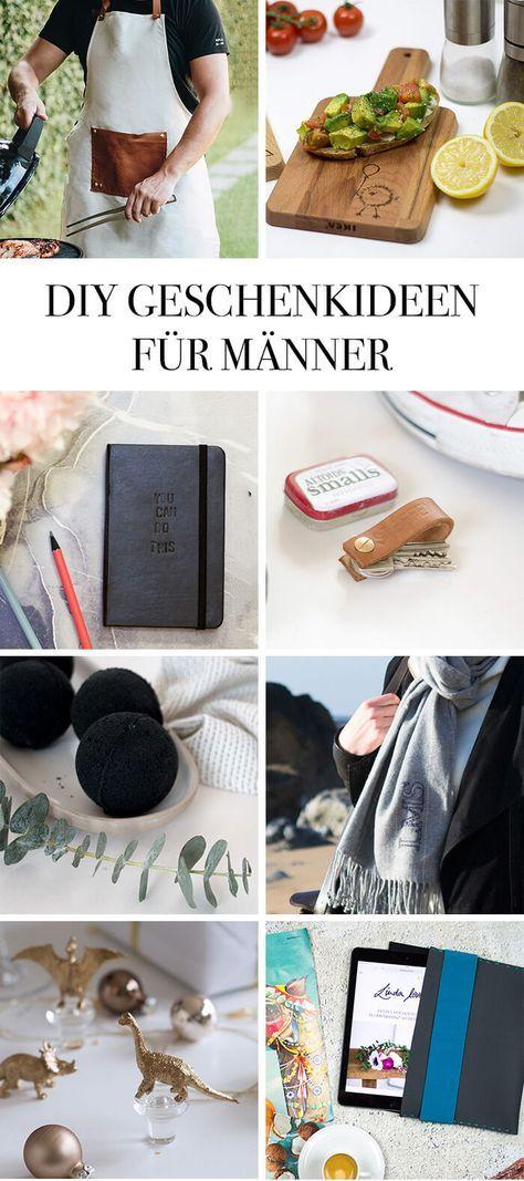 DIE SCHÖNSTEN DIY GESCHENKE FÜR IHN | Geschenke | Pinterest | Diy ...