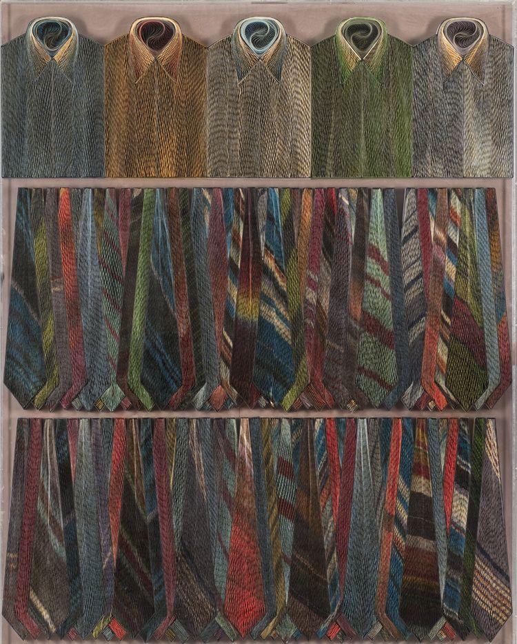 Les Arts Décoratifs - Site officiel - Optique hypnotique - Chemises-cravates