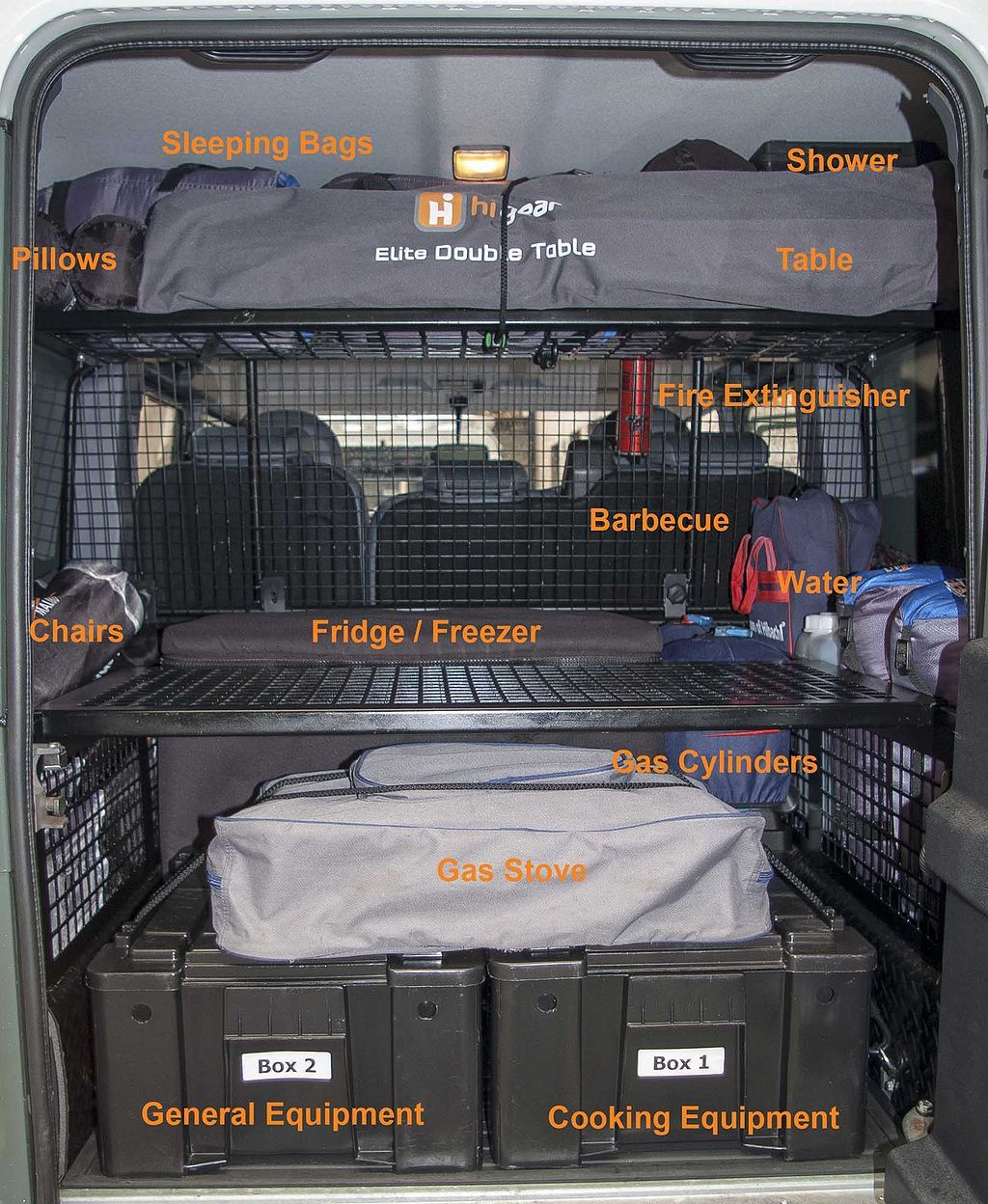Land Rover Discovery Off Road Accessories: Photo Land Rover Defender Camping Adventure