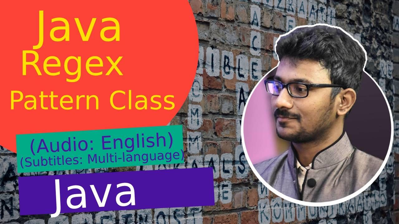 Java Util Regex Package For Pattern Matching With Regular