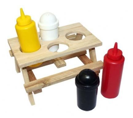 T-UP Picnic Table Condiment Set 311 Donu0027t leave home without this Picnic  sc 1 st  Pinterest & T-UP Picnic Table Condiment Set 311 Donu0027t leave home without this ...