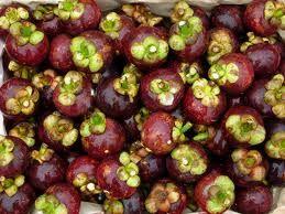 Mangosteen - fresh fruits