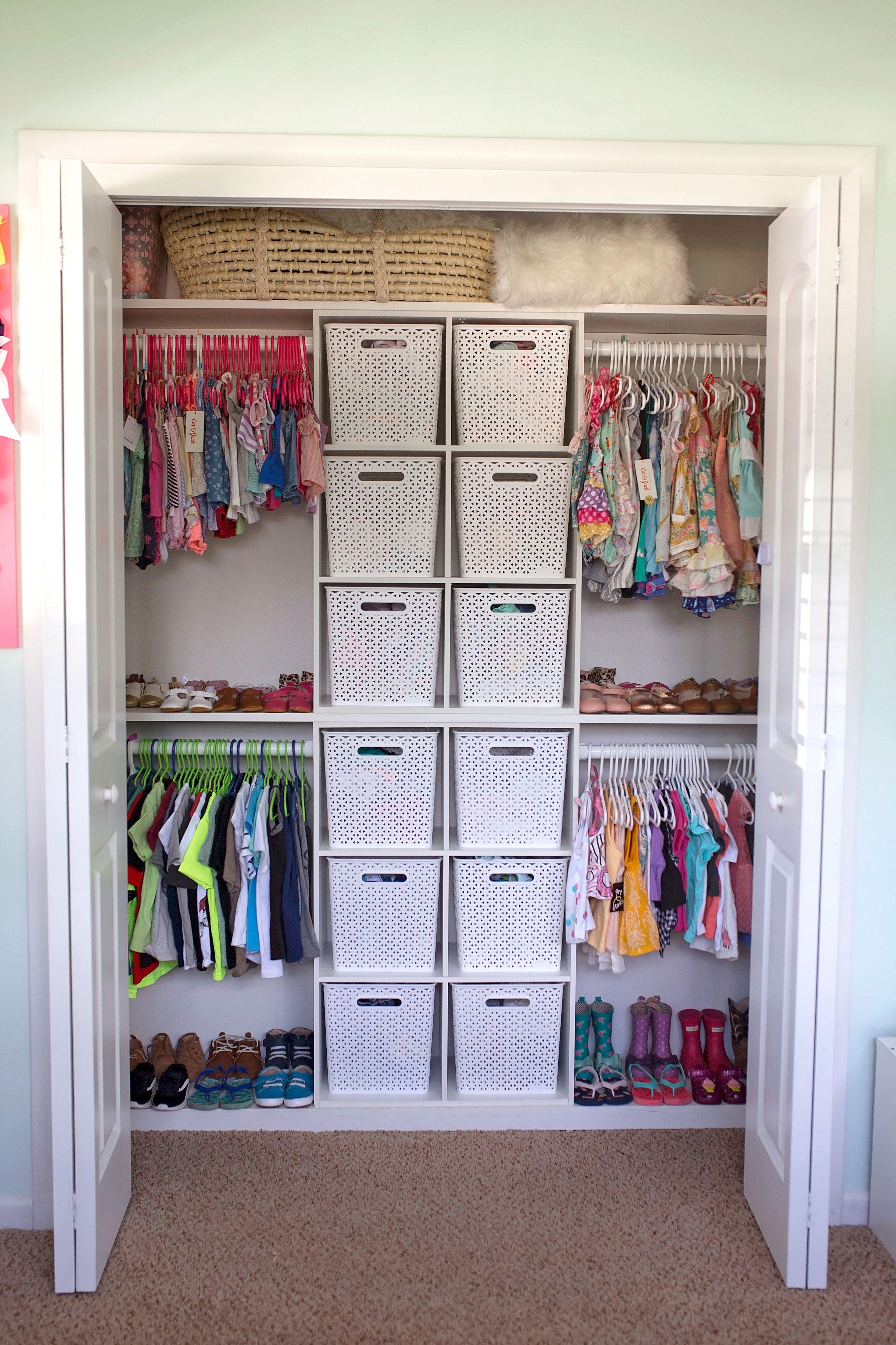 Kids Closet Kids Closet Storage Toddler Closet Organization Kids Room Organization