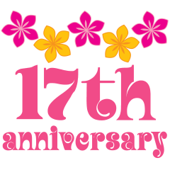 Image result for happy 17th anniversary
