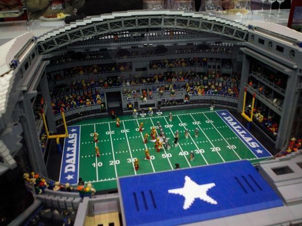 Amazing Lego Creations - Likes | Art | Pinterest | Cowboys football ...