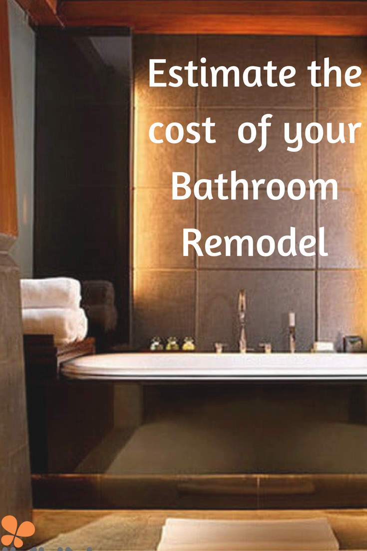 Estimate The Cost Of Your Bathroom Remodel Renovation Cost