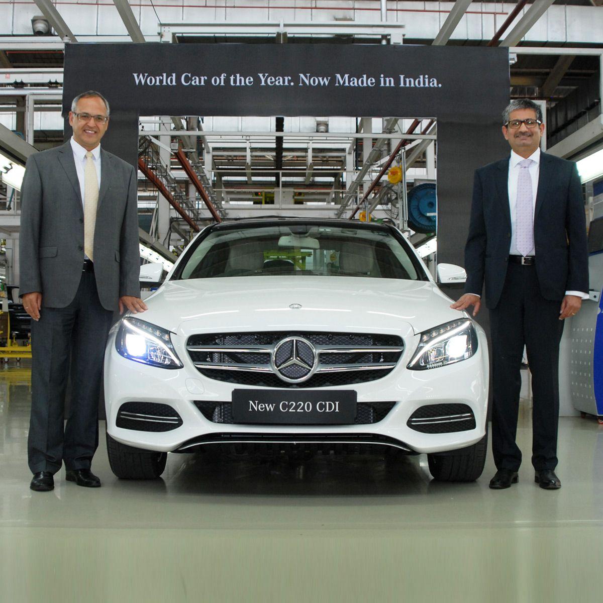 The new C 220 CDI Launch Mercedes benz, Mercedes
