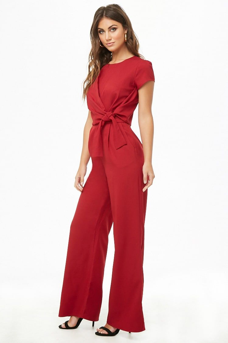 ba3ed6a8e2 Product Name Draped Front Jumpsuit