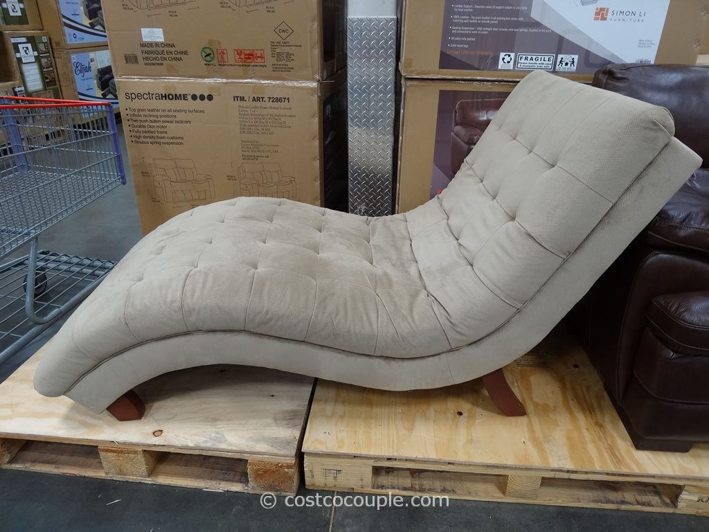 Universal furniture gabriella fabric chaise 300 from for Chaise lounge costco