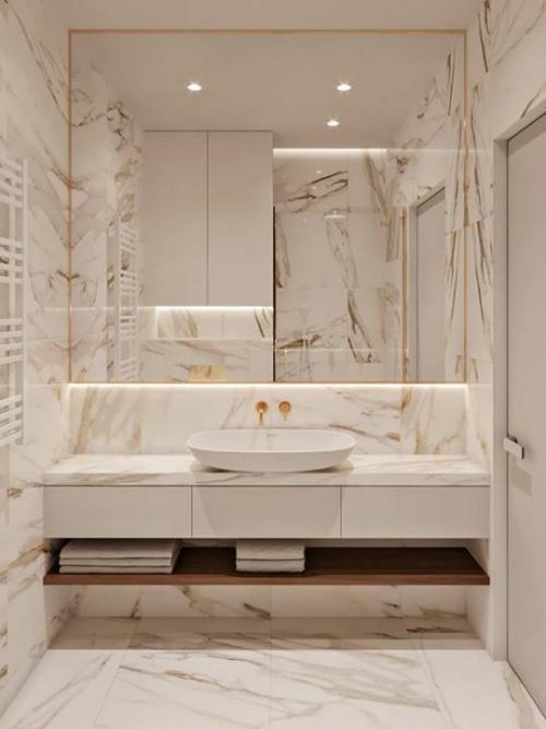Photo of Marmor im Bad? Ja, dieses Naturmaterial lässt das Badezimmer edel und zeitlos wirken – Fresh Ideen für das Interieur, Dekoration und Landschaft