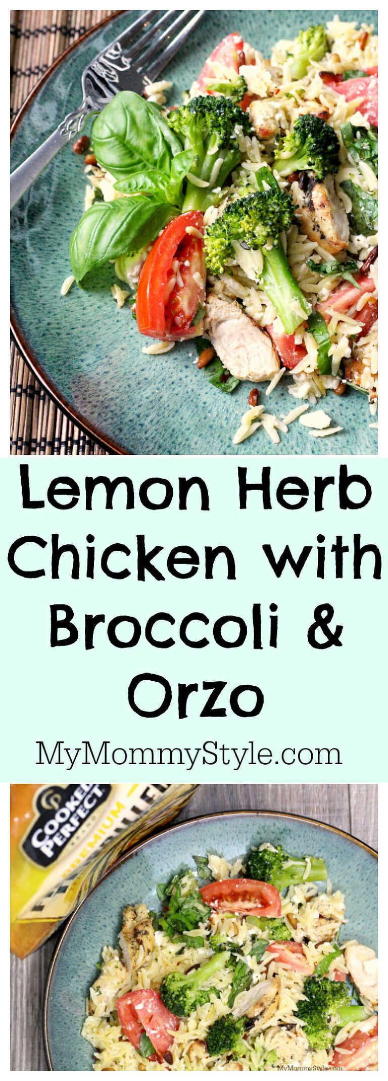 Lemon Chicken With Broccoli And Orzo Recipe In 20 Minutes Recipe Grilled Lemon Chicken Recipes Marinated Chicken Recipes