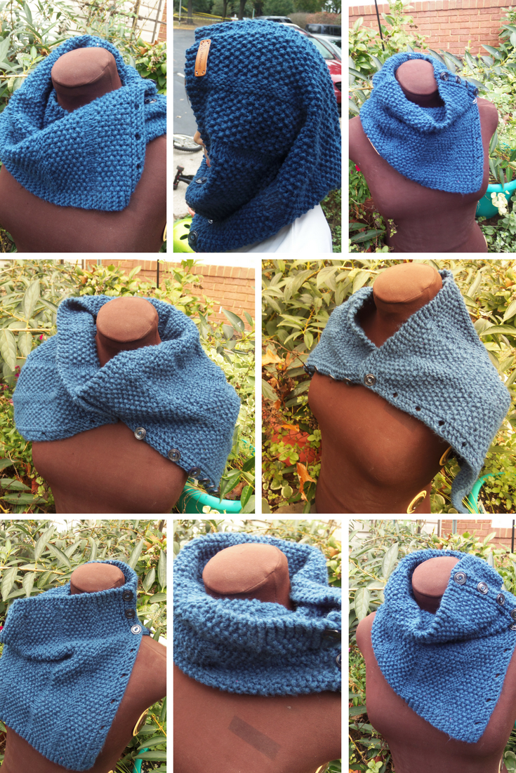 October Sky Cowl | Snood pattern, Easy knitting patterns