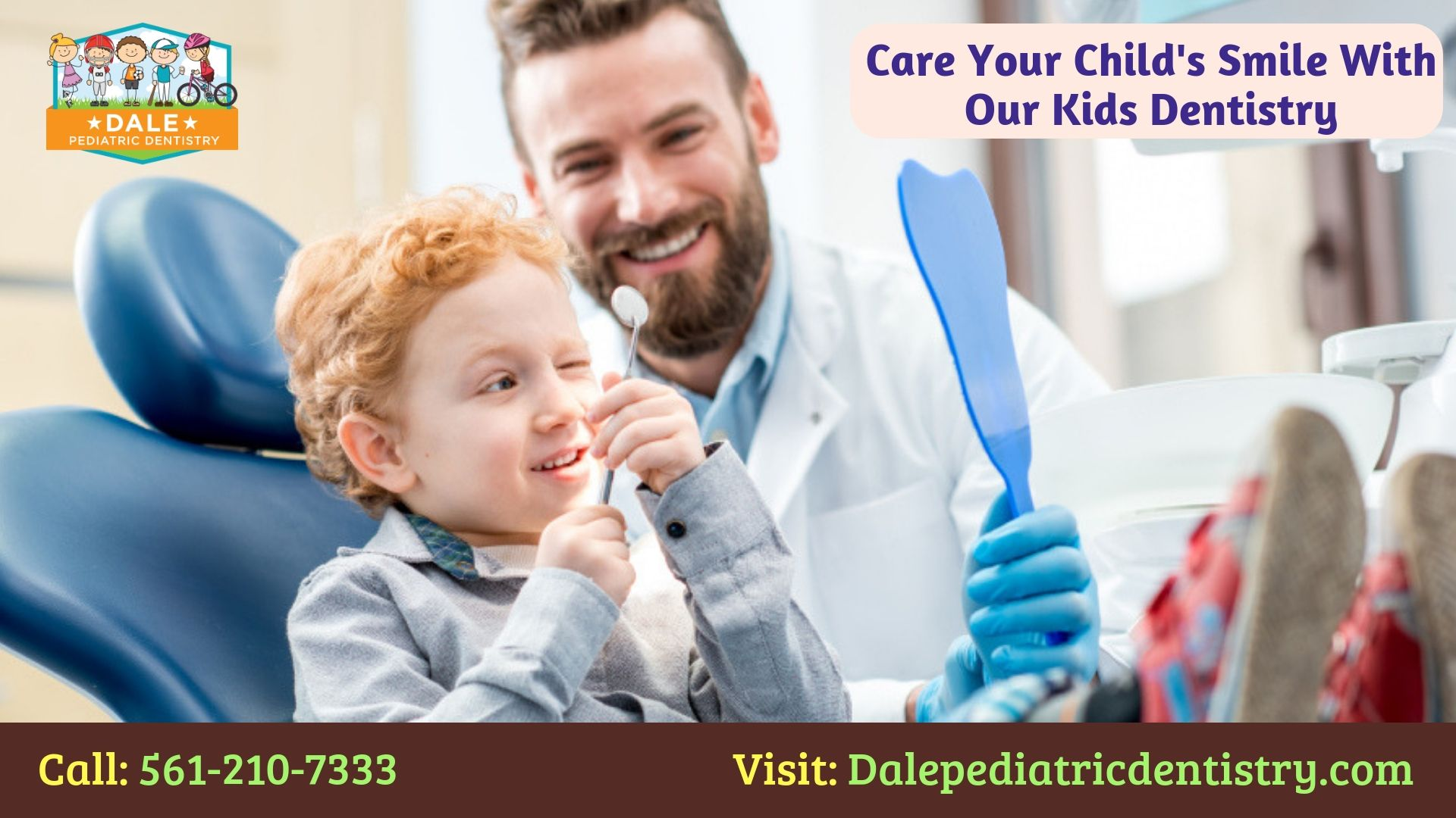 Want to enrich your child's oral health with responsive