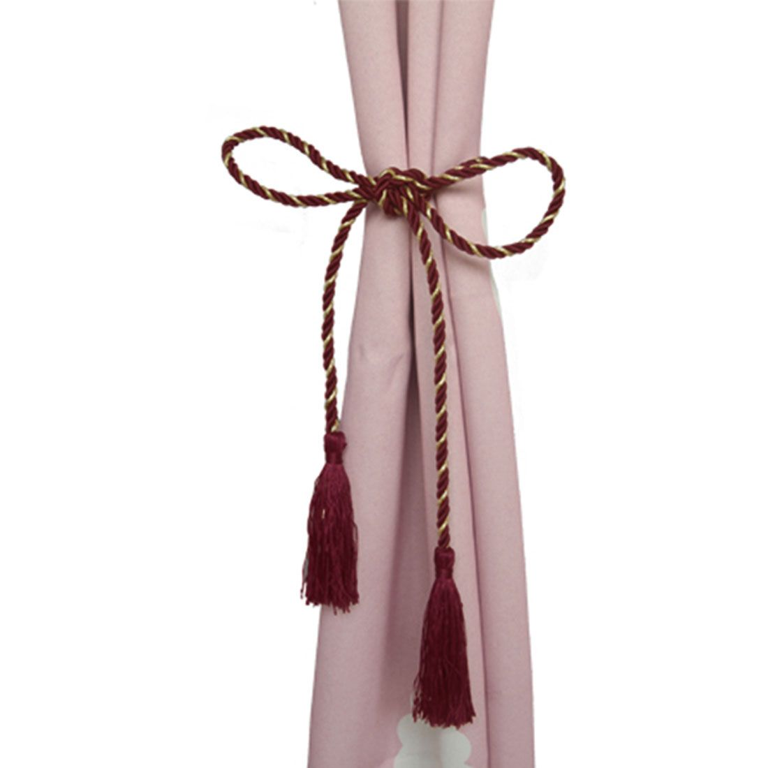 Best Sale Decorative Tassel Curtain Fringe Ropes Tiebacks Curtain Straps Home Window Accessaries. Yesterday's price: US $0.46 (0.38 EUR). Today's price: US $0.39 (0.32 EUR). Discount: 15%. #curtainfringe