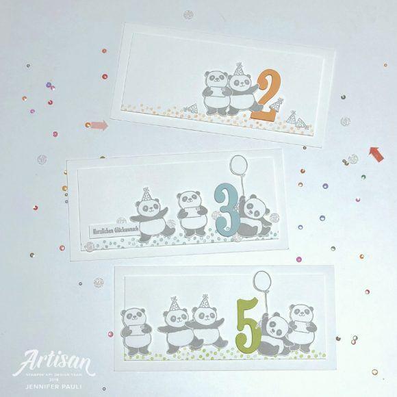 Party Pandas Stampin'Up! Artisan Blog Hop #stampin#39;up!cards