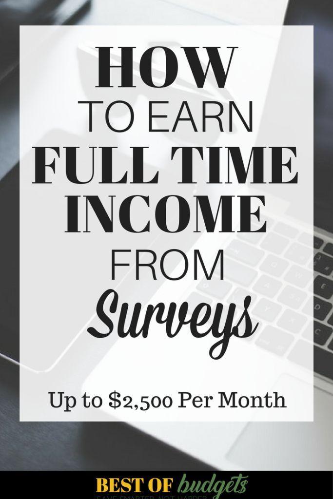 So verdienen Sie in diesem Monat 500 US-Dollar mit bezahlten Online-Umfragen! | Best of Budgets   – Starting a Blog and Business