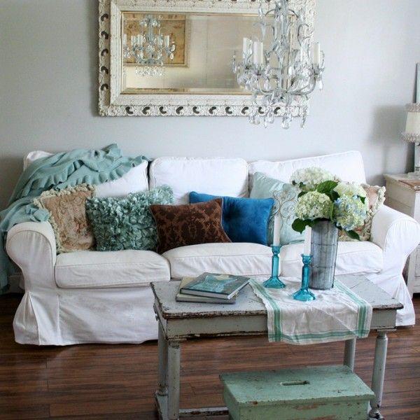 Vintage Wohnzimmer-rustikale möbel Dekoration Pinterest - wohnzimmer deko rustikal