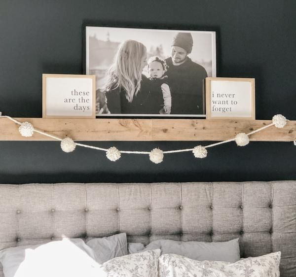 These Are The Days I Never Want To Forget | Farmhouse Style Wood Signs #modernfarmhousebedroom