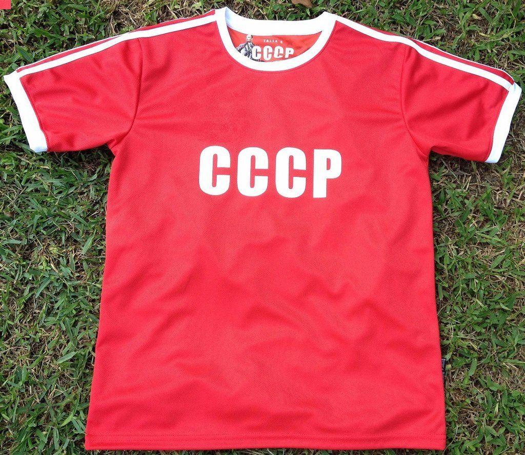 49c80e75c URSS (Soviet Union) CCCP Men s Retro Soccer Jersey