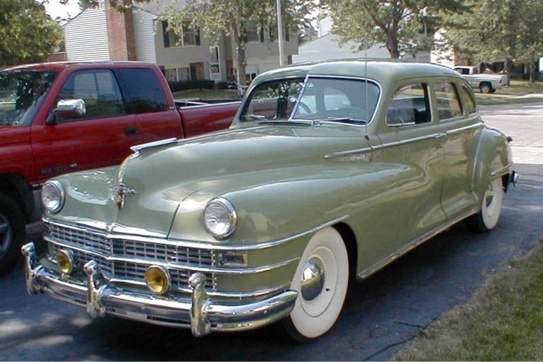 1947 Chrysler New Yorker Big Grill Chrysler New Yorker