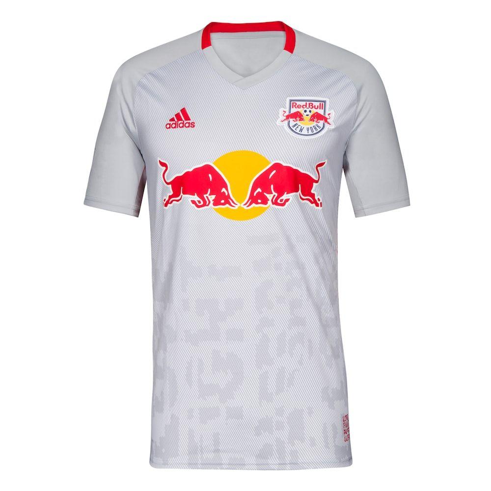 san francisco ec119 0565e Men's adidas New York Red Bulls Replica Jersey Top, Size ...