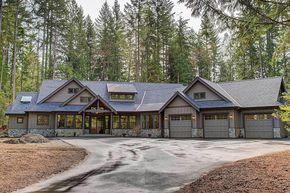 Amazing One Level Craftsman House Plan