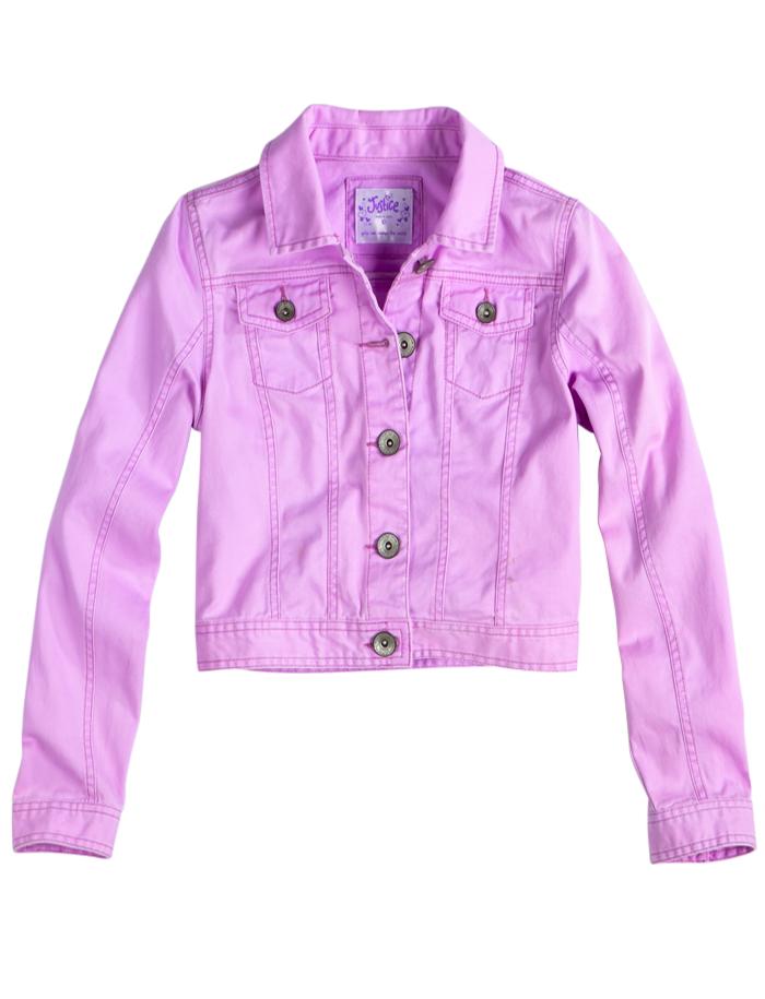 Embellished Denim Jacket | Girls Outerwear Clothes | Shop Justice ...