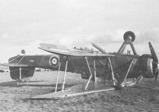 Captured Swordfish L9724 of 812 squadron near Dunkirk, 15 November 1940