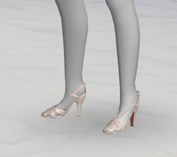 Greenapple18r: Val. Sandals • Sims 4 Downloads
