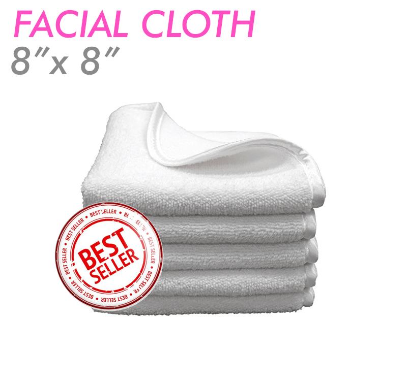 Ultra fluffy microfiber facial cloths Facial, Makeup
