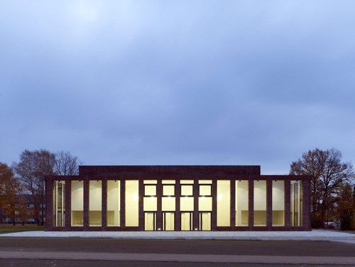 Architekt Bremen sports and convention center at