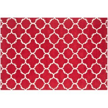 Check out this item at One Kings Lane! Tamisin Rug, Red