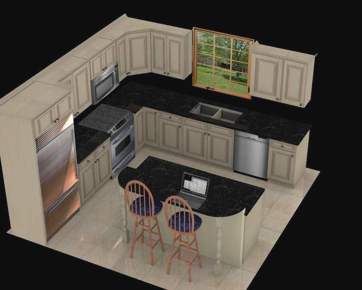 Bilderesultat for 12 x 12 kitchen design layouts   house ...