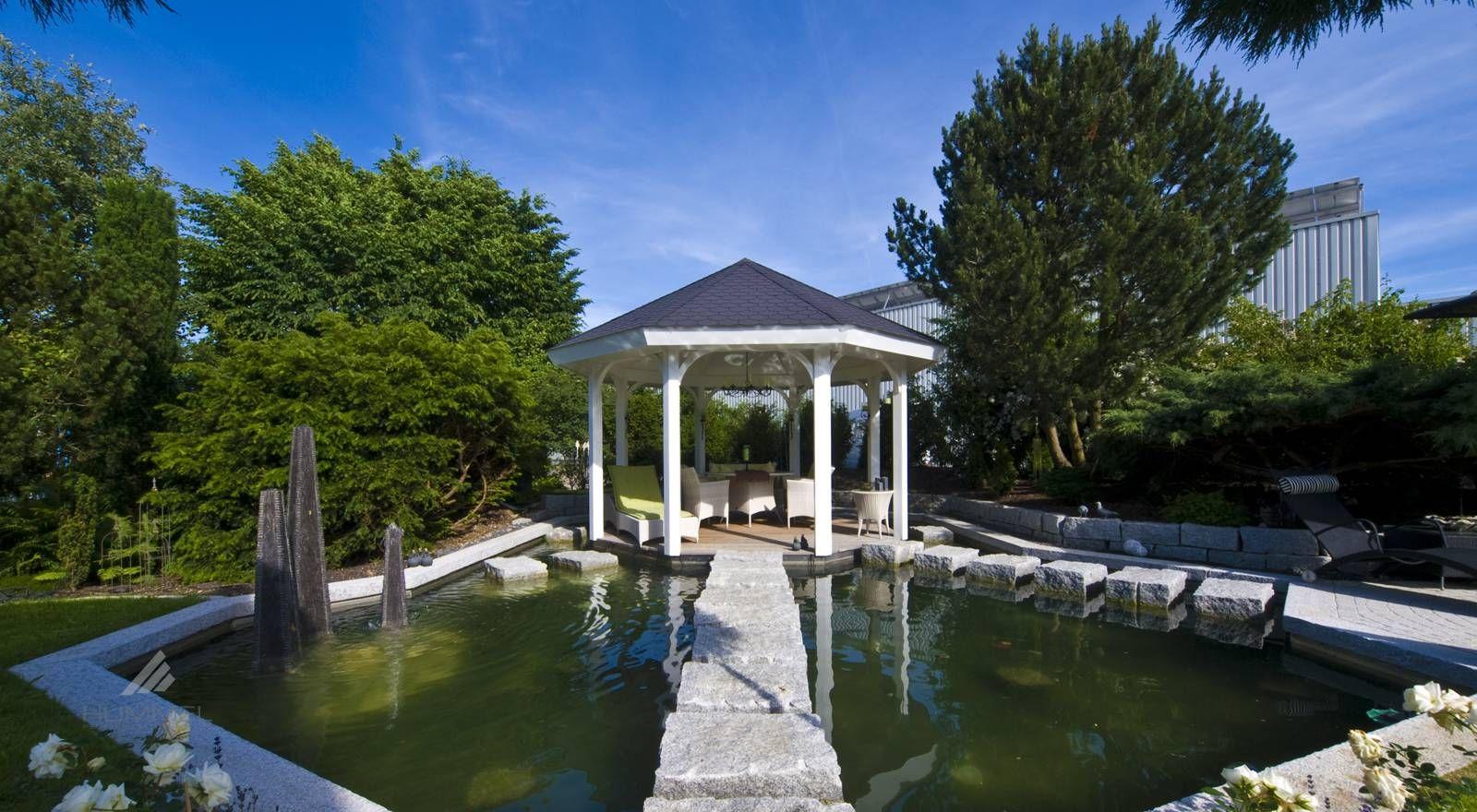 Moderne & individuelle Gartenhäuser, Gartensaunen