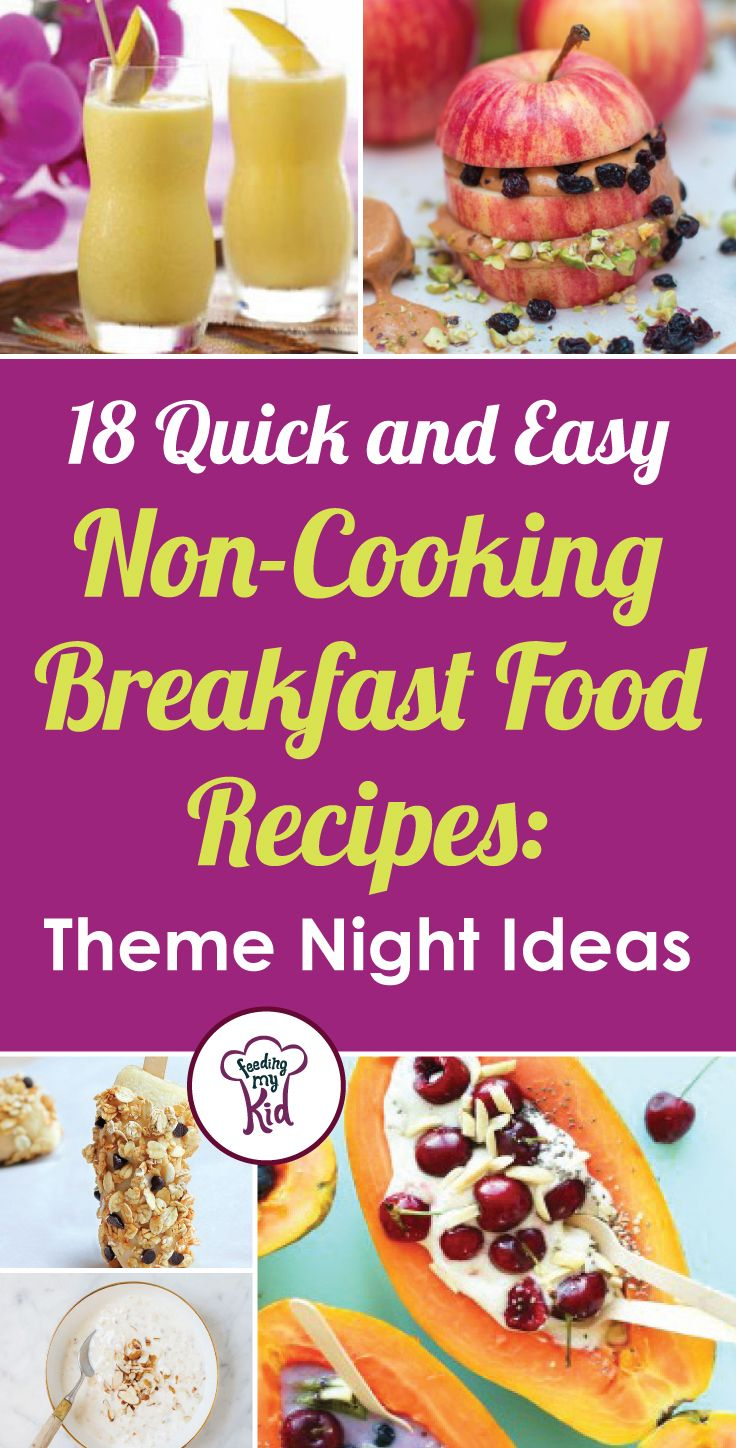 Pin On Breakfast Foods For Kids And Adults Easy Breakfast
