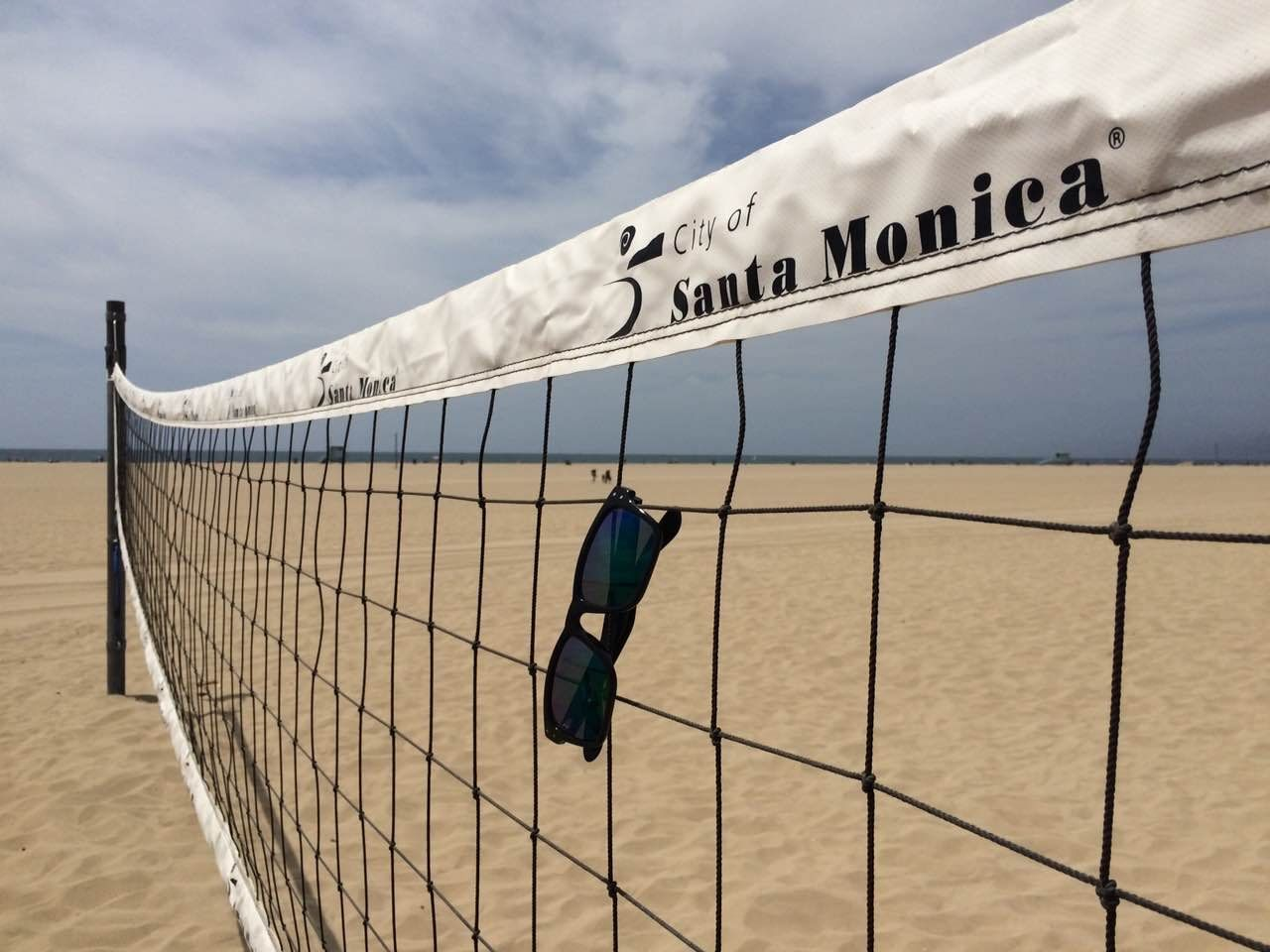 Volleyball Santa Monica Beach And Trioo Polar Seeyourpassion Volei De Praia Cidade Volei