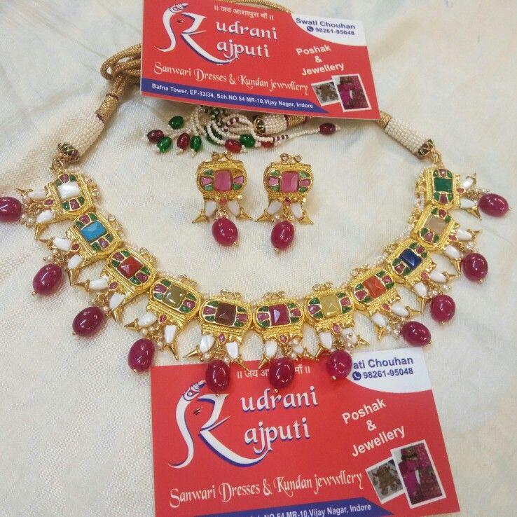 Navratan round set..   jewel   Pinterest   Rounding and Jewel