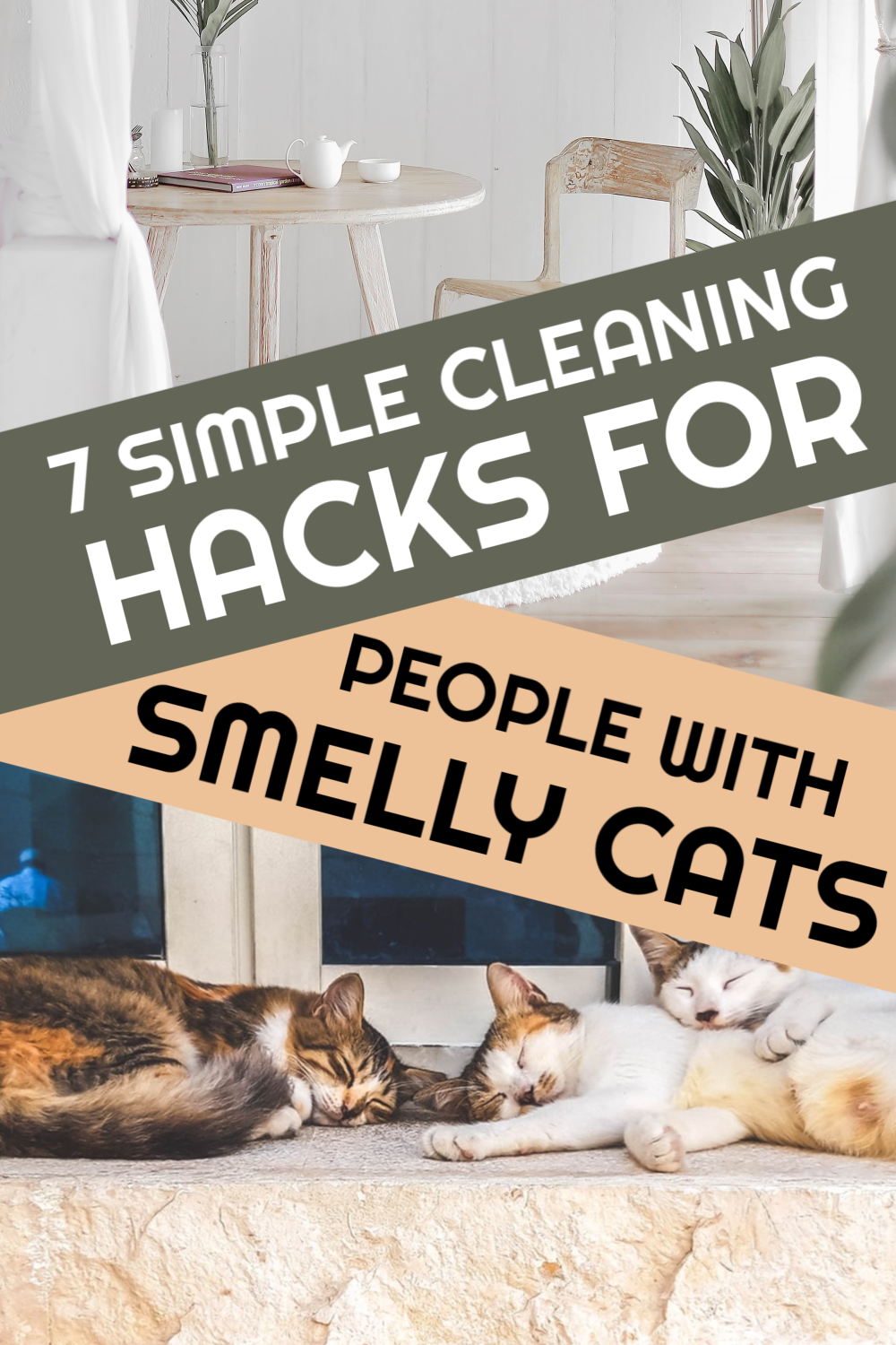 7 Tips To Keep Your Home From Smelling Like A Litter Box Cat Litter Smell Litter Box Cats Smelling