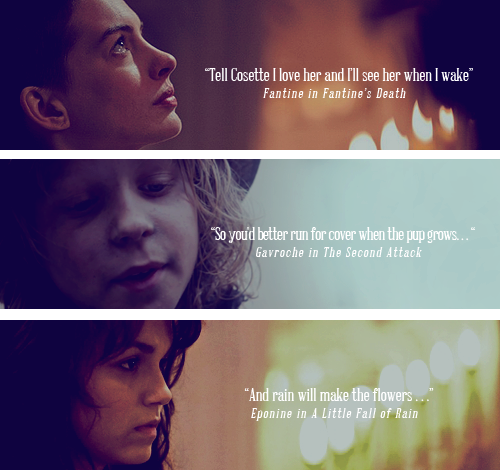 Last Words From Les Mis Characters. Ahh!! It Was So Sad