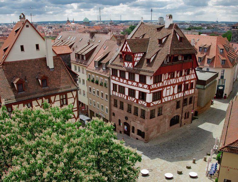 Architekt Erlangen Nürnberg: Das Albrecht-Dürer-Haus! Ein Wunderschönes Fachwerkhaus In