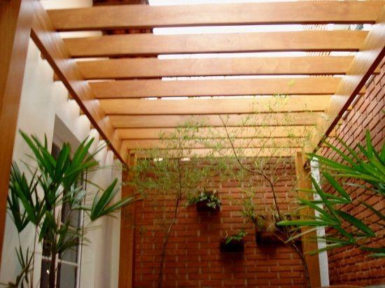 pergolado de madeira com vidro maracujá - Pesquisa Google  Ideias de decoração ...