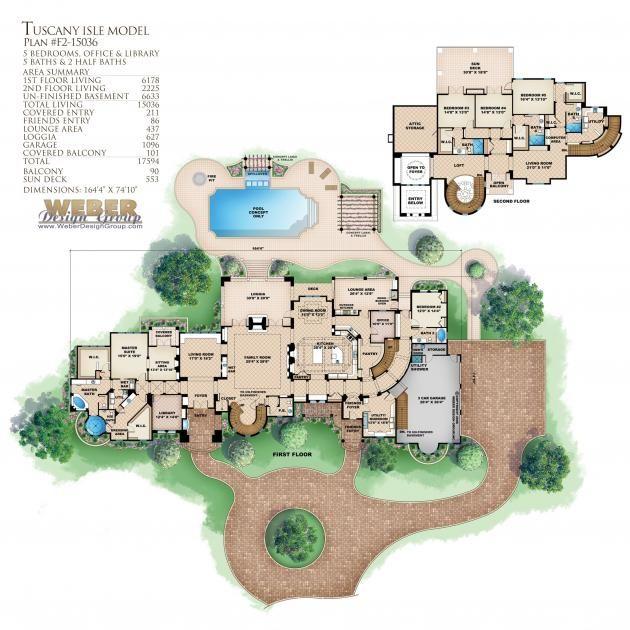 Tuscan Floor Plan | Tuscany Isle Floor Plan