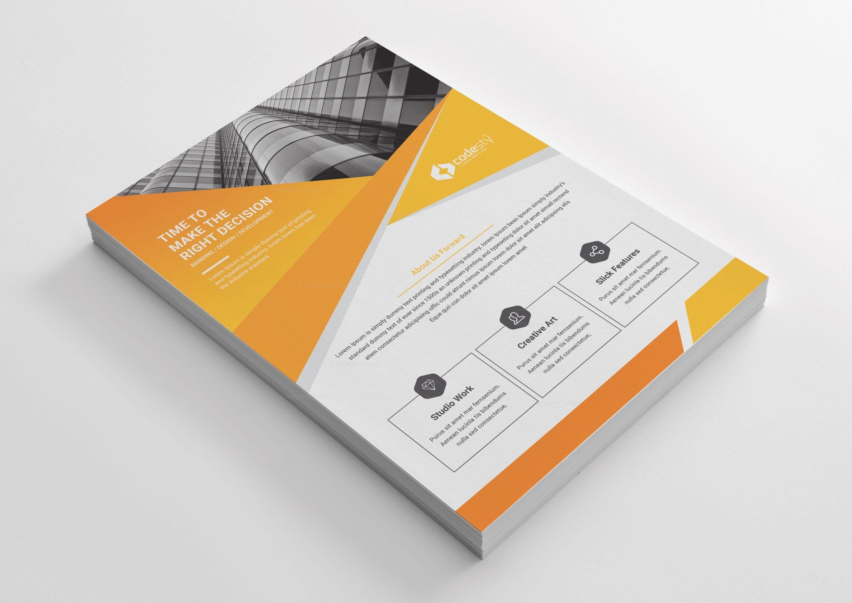 Minimal Print Flyer Design Graphic Templates Flyer Design Flyer Minimal Prints