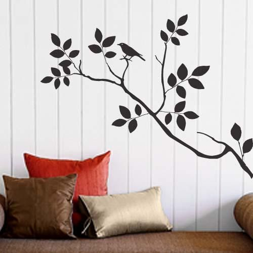 Decoracion de paredes en vinil autoadhesivo con todo tipo - Dibujos para paredes ...